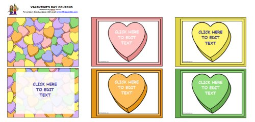 valentines day coupon book - Valentines Day Coupon Book