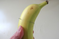 sliced banana trick