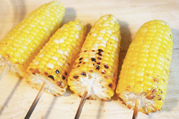 elote mexican street corn with cotija cheese