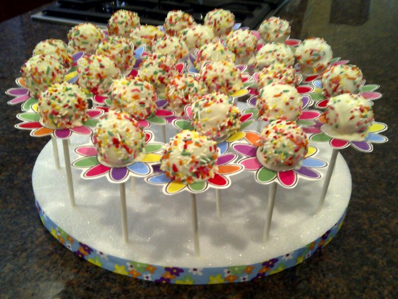 Decorating Cake Pops Easy : An easy way to decorate cake pops Chica and Jo
