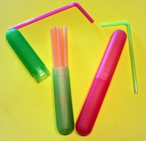 Holder for straws