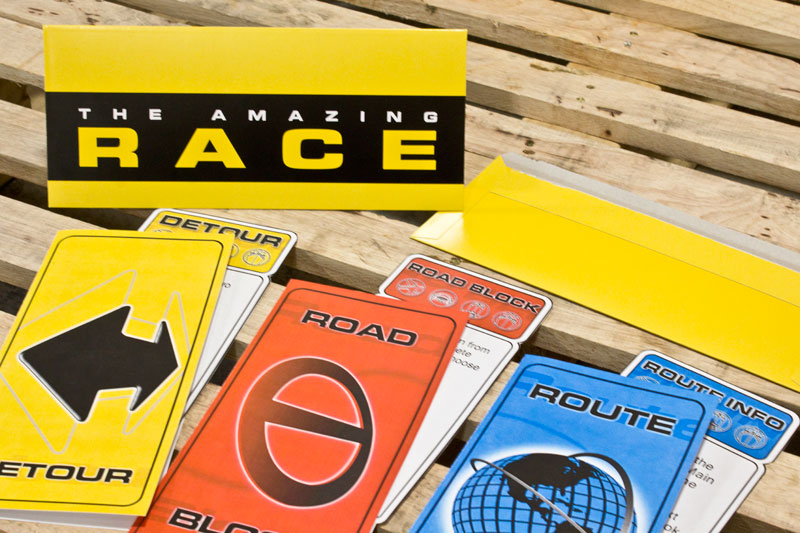 Amazing Race Clues For Kids Party