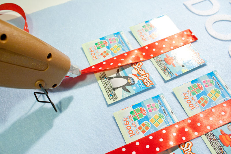 Lottery ticket Advent calendar | Chica and Jo
