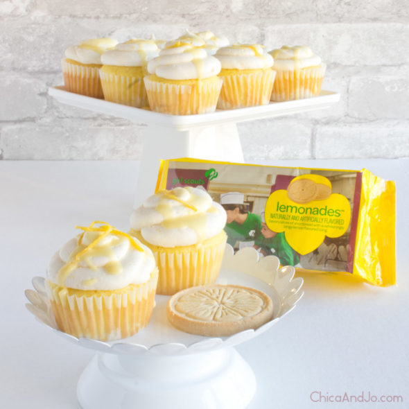 Girl Scout Cookie Cupcake Recipe Lemonades Chica And Jo