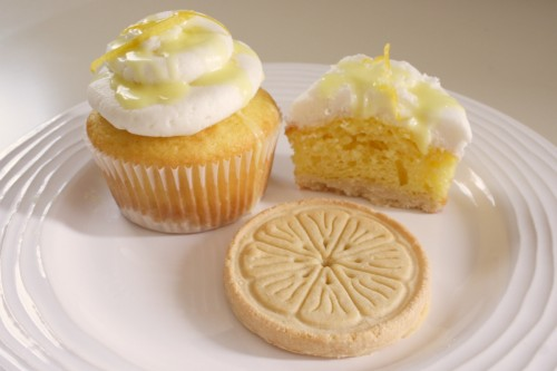 Girl Scout cookie cupcakes Lemonades