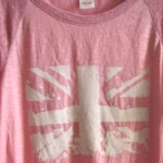 Silk screen Union Jack tee with Tulip's ScreenIt