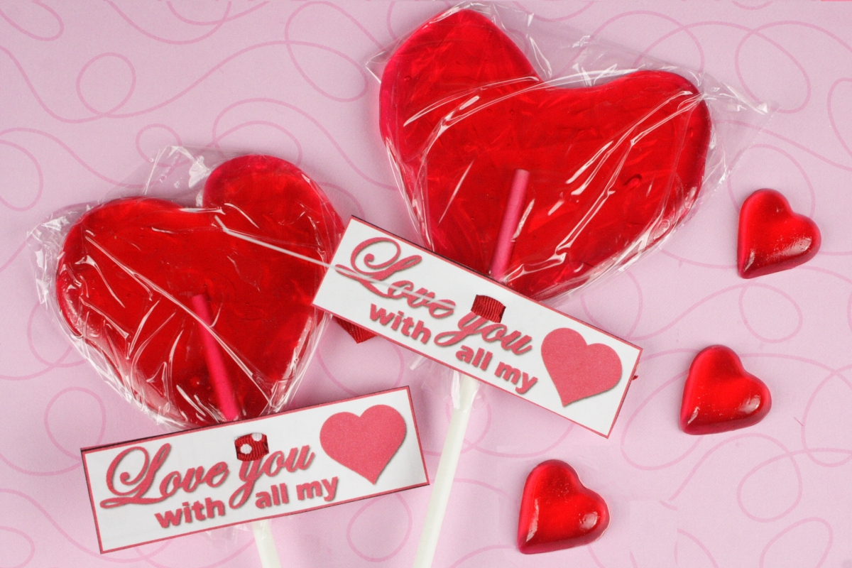Valentines Day Heart Shaped Candy. Valentine's Day Heart Candy. View ...