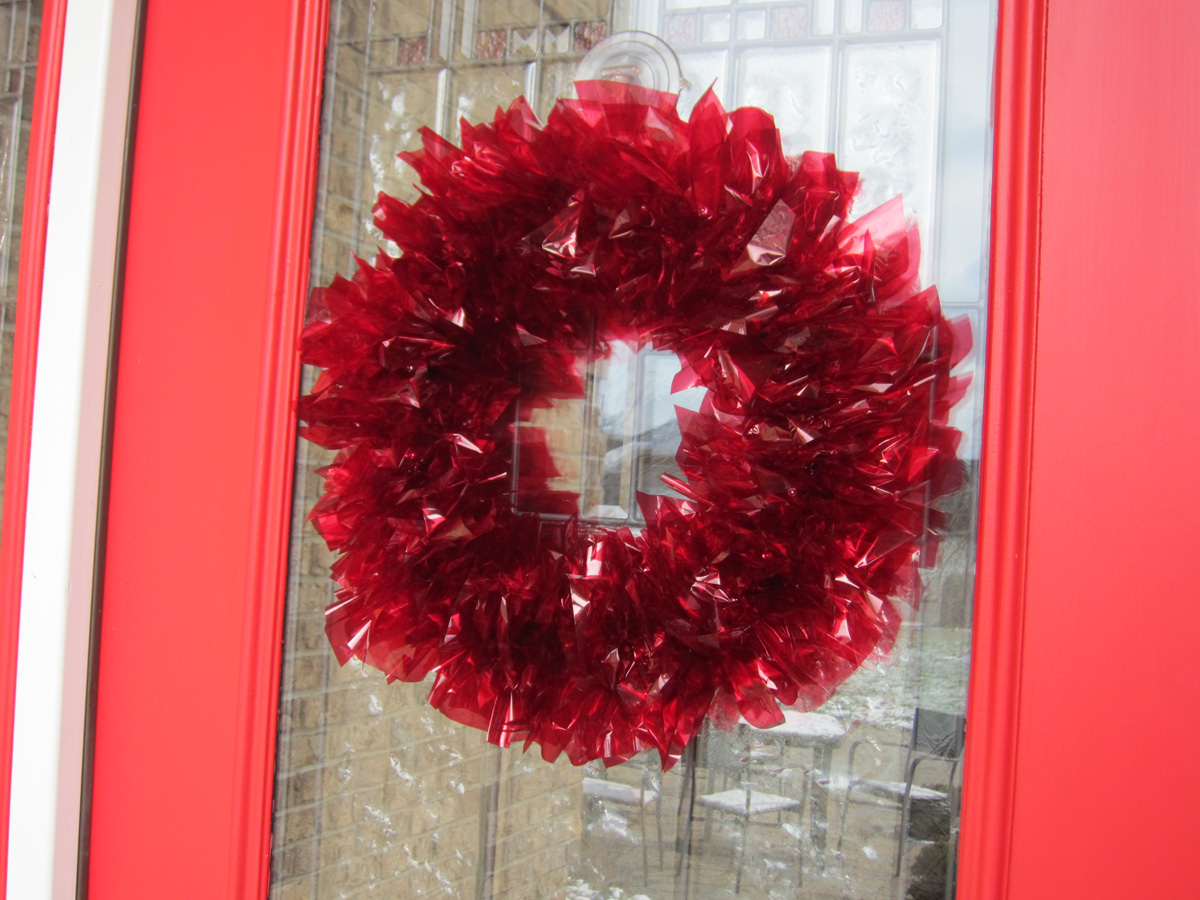 Vintage Christmas Wreath Chica And