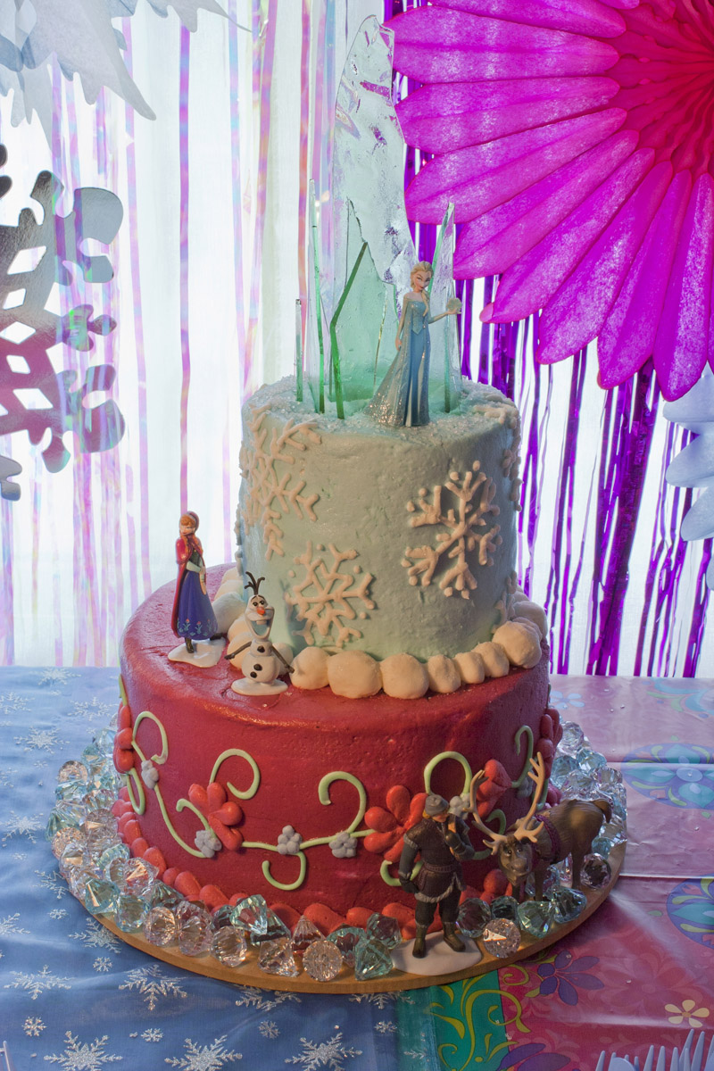 Birthday Cake Ideas Disney Frozen : Disney s Frozen party Chica and Jo