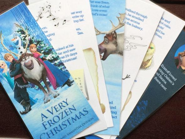Disney Frozen Advent Calendar Chica And Jo