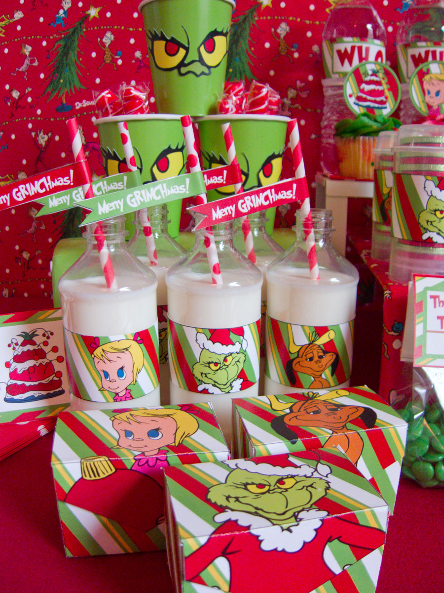 Grinch Christmas party ideas | Chica and Jo