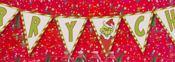 grinch party printables