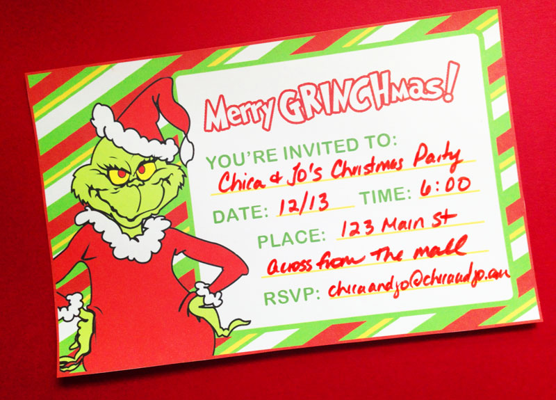 The Grinch Christmas Party.Grinch Christmas Party Ideas And Printables Chica And Jo