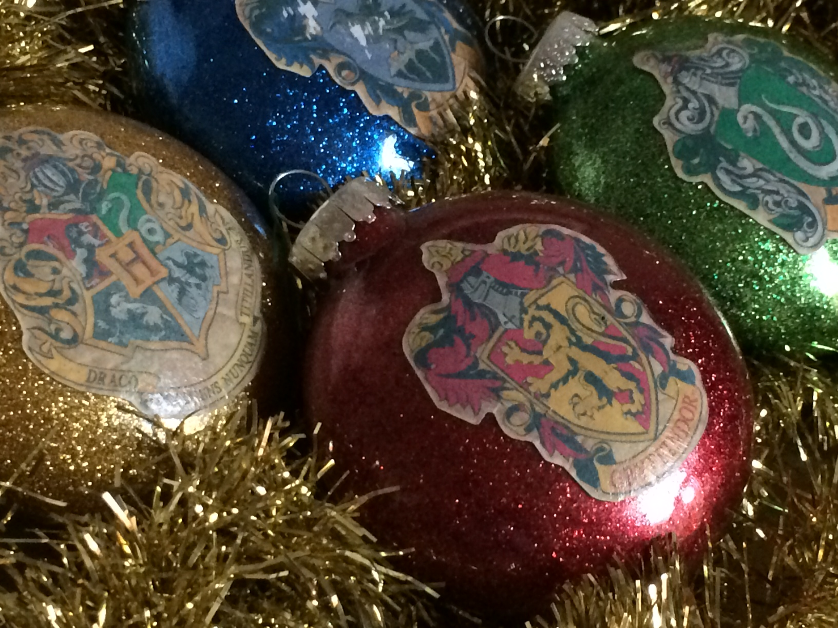 Yearly christmas ornaments - Harry Potter Christmas Ornaments