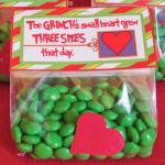 Grinch treat bag tags
