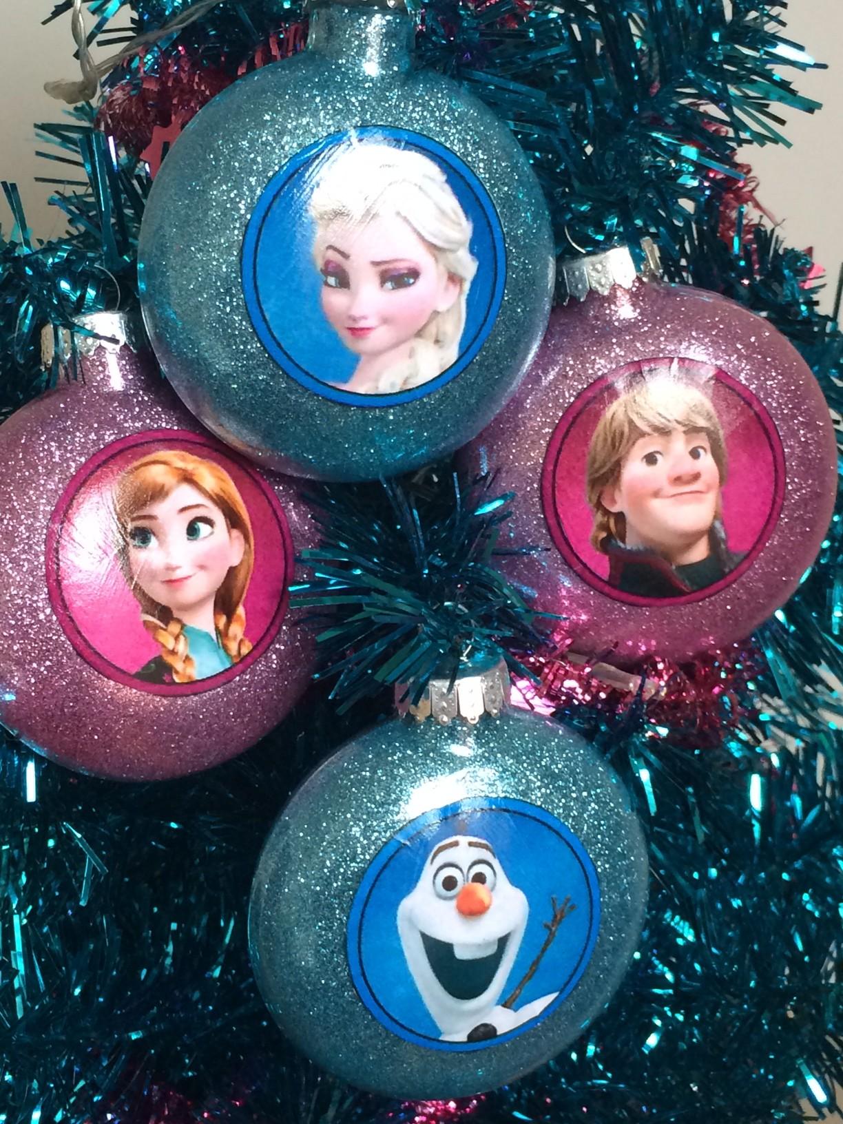 Disney frozen ornaments - Disney Frozen Ornaments