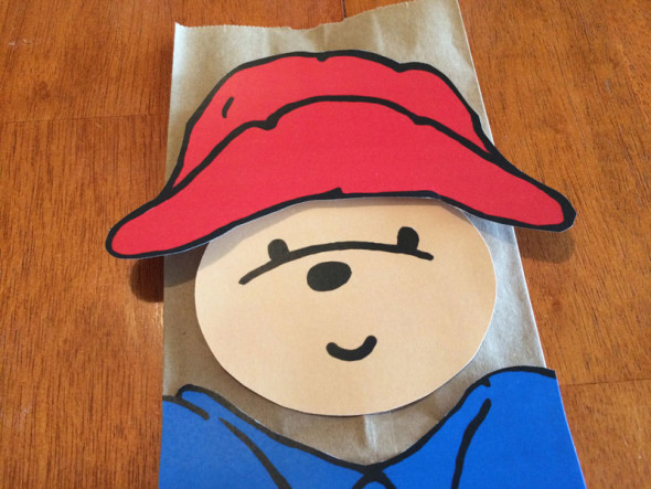 Paddington Bear party favor bags