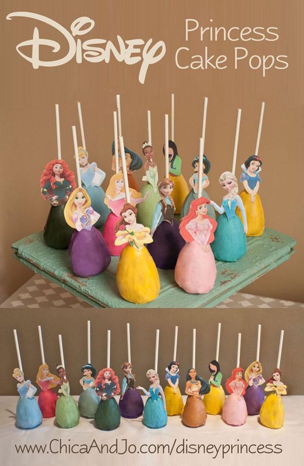 Princess Cake Pops Recipe