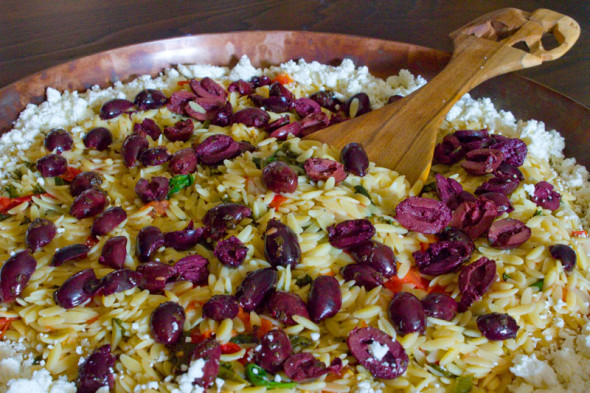 Disney's Tusker House orzo pasta salad