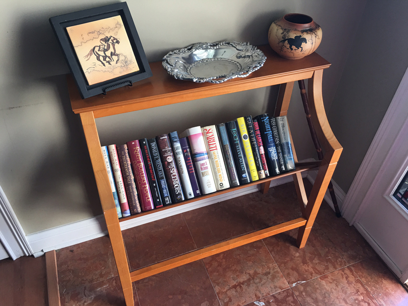 Bookshelf Table 1