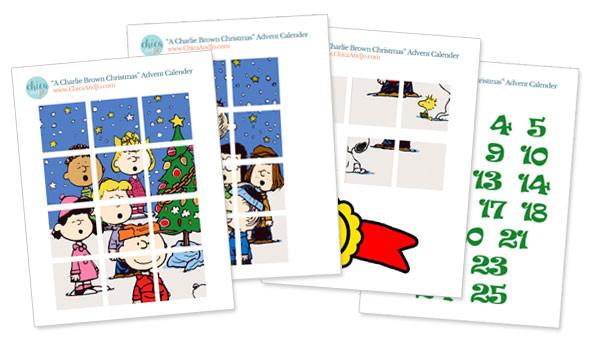 Snoopy Charlie Brown Peanuts Advent calendar