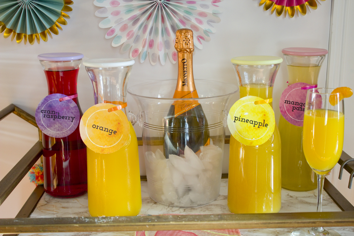 how to make mimosas bar