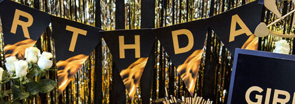 DIY Hunger Games party banner printables