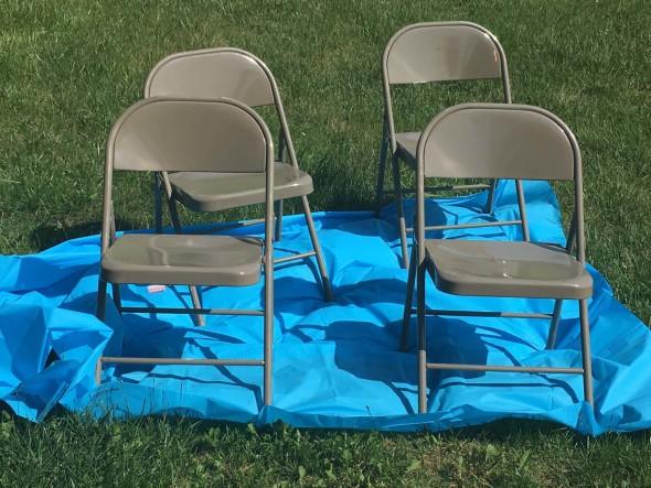 Folding Chair Refinish 2