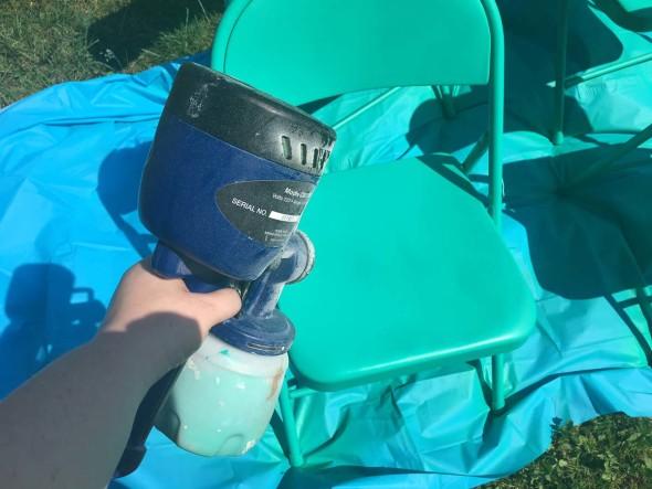 Folding Chair Refinish 3