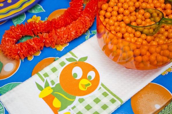 Disney Orange Bird Party 11