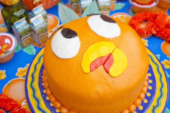 Disney Orange Bird Party 14