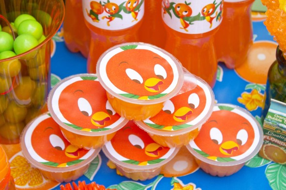 Disney Orange Bird Party 18