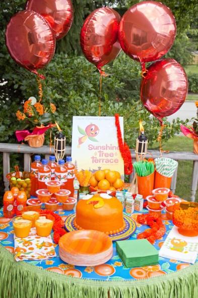 Disney Orange Bird Party 2