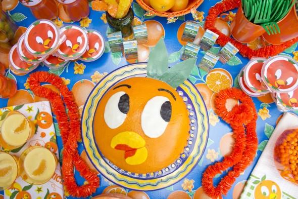 Disney Orange Bird Party 6