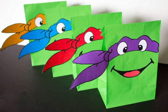 Ninja Turtle Gift Bags - Best Model Bag 2016