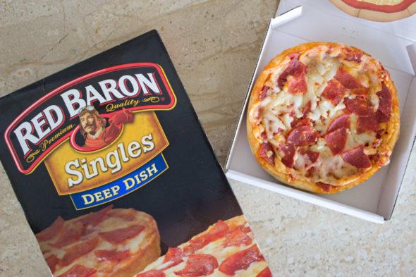 mini pizza boxes red baron singles