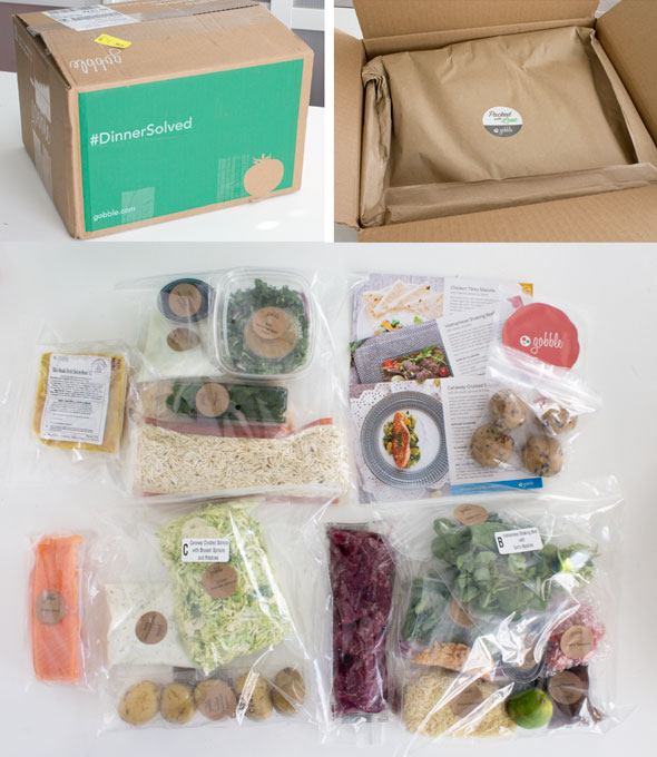 Gobble meal delivery kit
