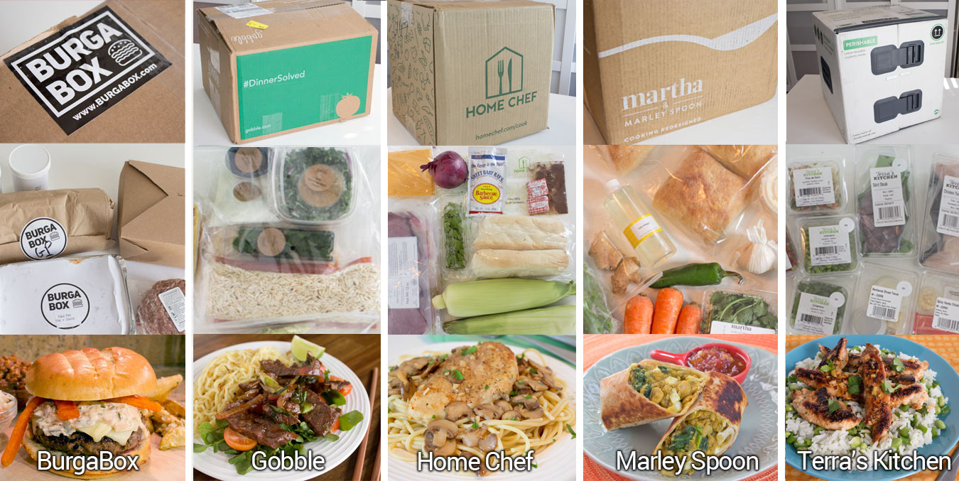 Review of new and unique meal delivery kit services