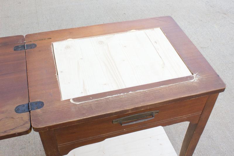 Sewing Table Bar Cart