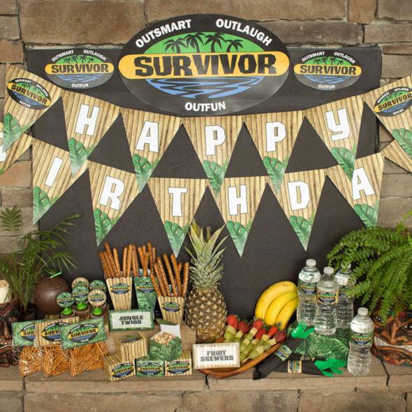 Survivor Party Printables