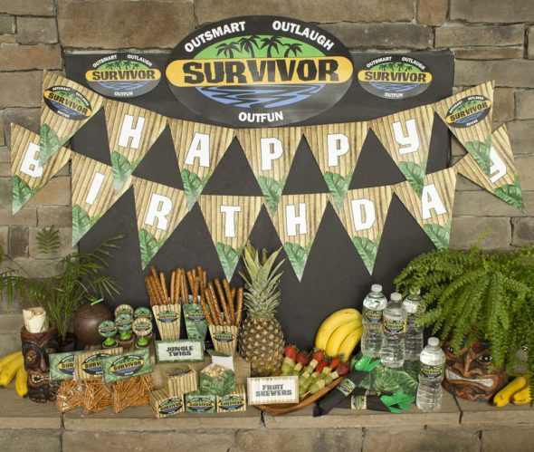 Survivor party printables