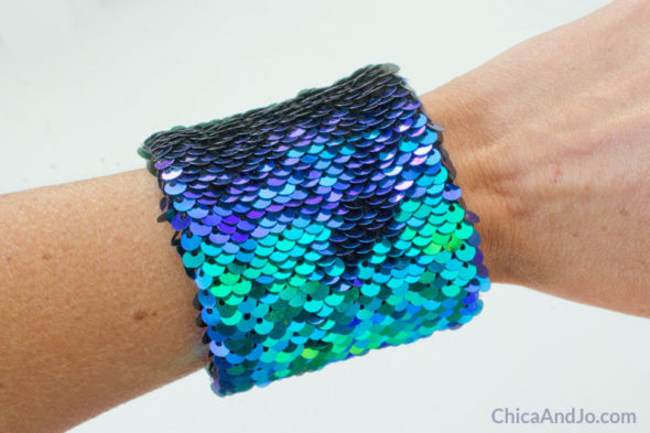 Diy Mermaid Sequin Sensory Bracelet