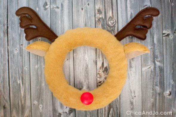 Rudolph the Reindeer Christmas wreath