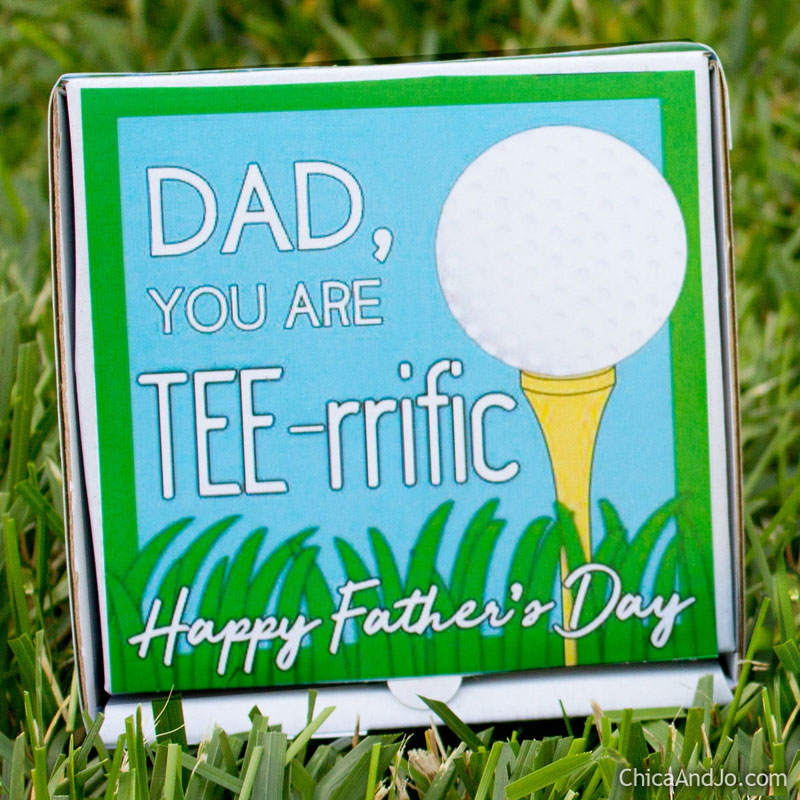Fathers Day Golf Gift Card Holder Chica And Jo