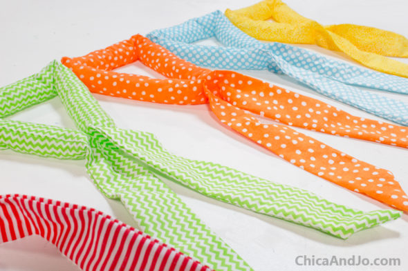 Make your own cooling neck wraps