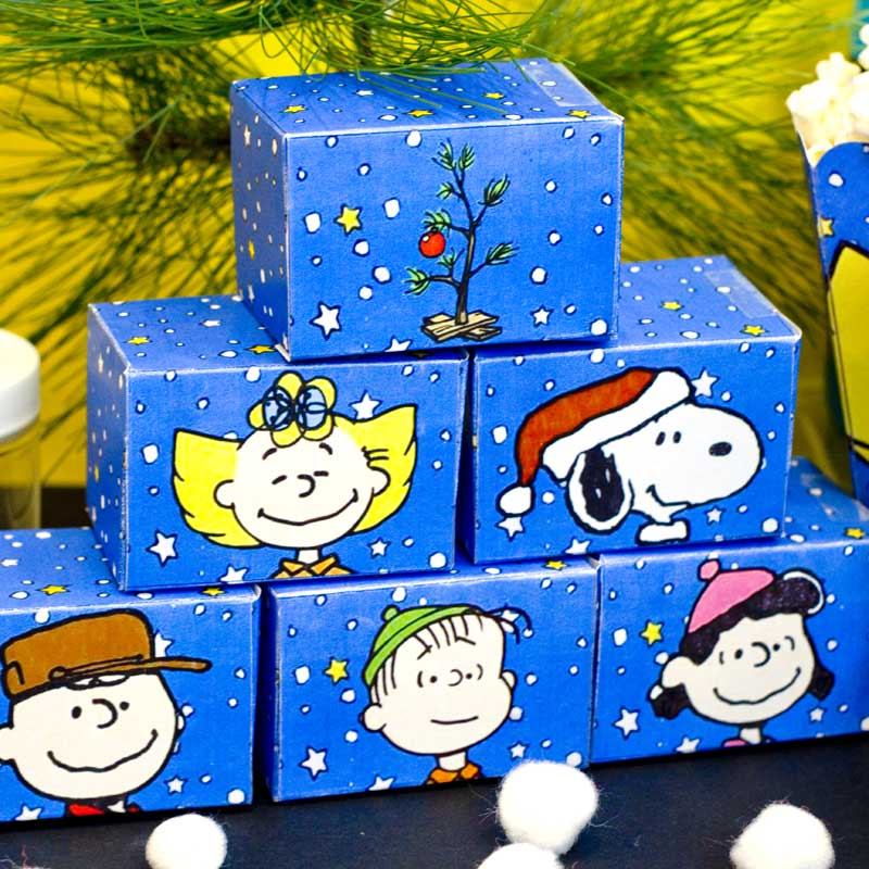 Peanuts Charlie Brown Christmas party