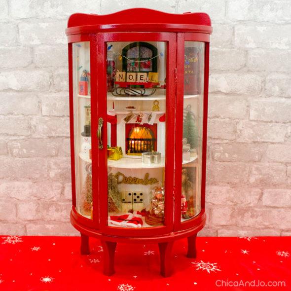 Christmas curiosities cabinet