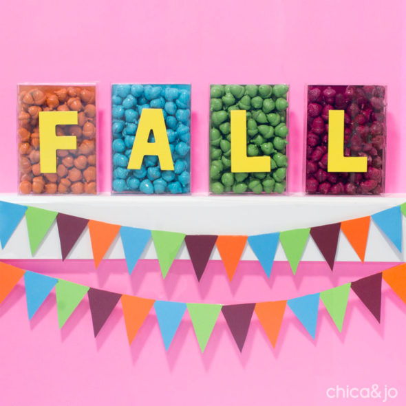 Modern Fall Decor With Painted Acorns Chica And Jo