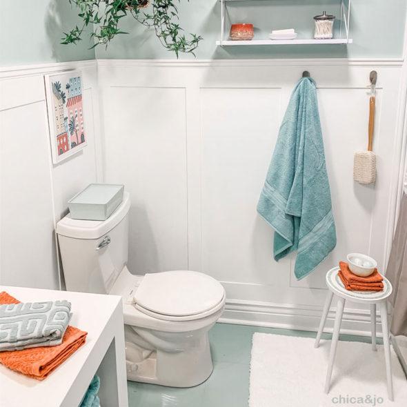 Spa-like guest bathroom makeover ideas