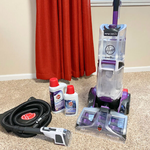 Review of Hoover s SmartWash PET carpet cleaner